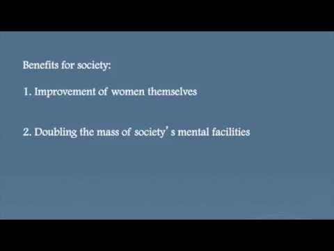 John Stuart Mill, On the Subject of Women (Chapter 1)