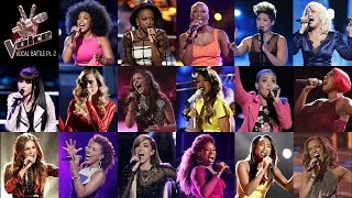 The Voice: Vocal Battle - Belted Notes (E♭5 - A5)
