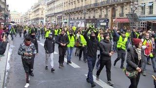 Acte 6 : Des milliers de Gilets Jaunes dans les rues de Paris !