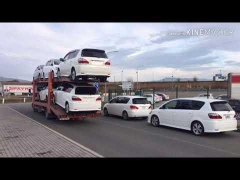 Авто из Армении. Toyota Ipsum. Пр.руль