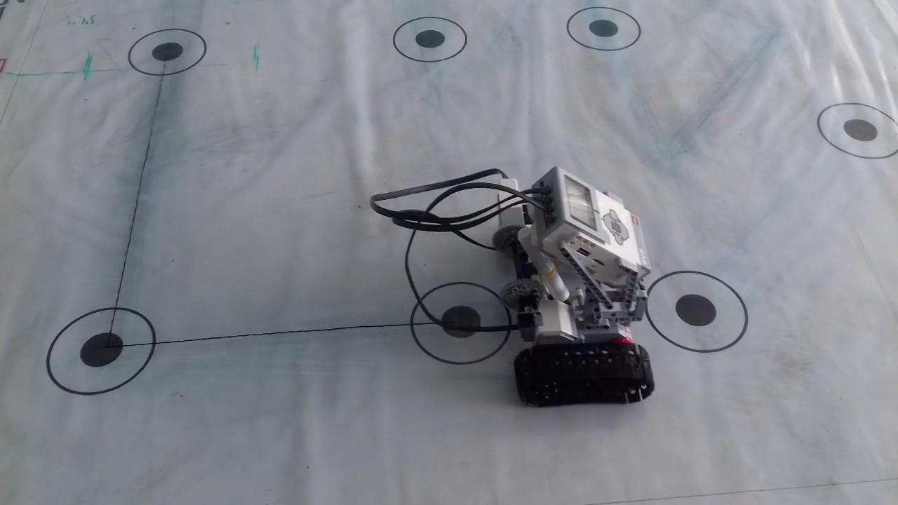 как сделать робота чертежника