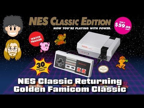 NES Classic Returning & Golden Famicom Classic  #CUPodcast
