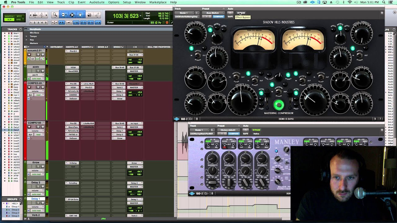 How to Get a More Intimate Mix with Dynamics Processing on the Stereo Buss