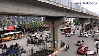 Wheels On The Bus Ha Noi 2019 🚌 Xe buýt Hà Nội 2019   HT BabyTV ✔︎