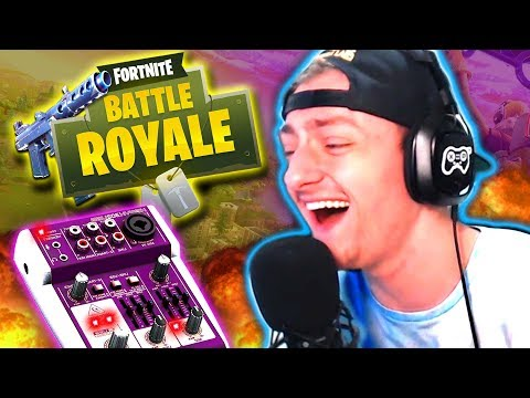 FORTNITE VOICE CHANGER TROLLING! *Funny Reactions!*