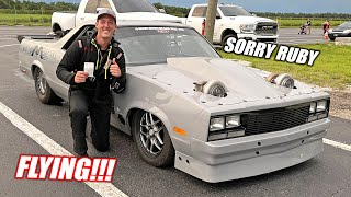 homepage tile video photo for Mullet's FASTEST PASS YET!!! Officially Took Down Ruby's Record, Fastest Car On The Channel!!!