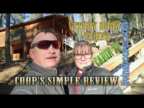 Coop's Simple Review - Story Book Cabin 23