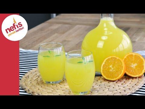 1 Portakal 1 Limon ile Limonta Yapımı | Pratik Limonata Tarifi
