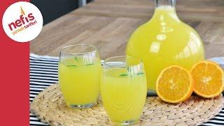 1 Portakal 1 Limon ile Limonata Yapımı | Pratik Limonata Tarifi