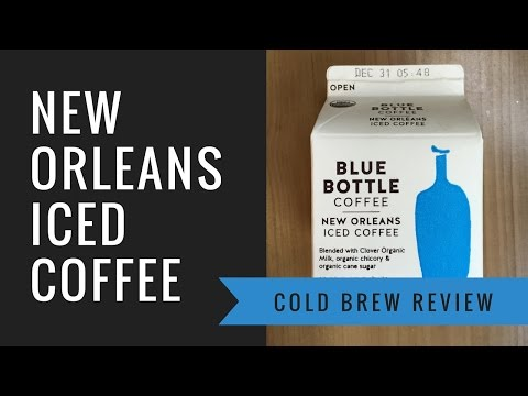 Review: Blue Bottle Coffee - New Orleans Style Iced Coffee