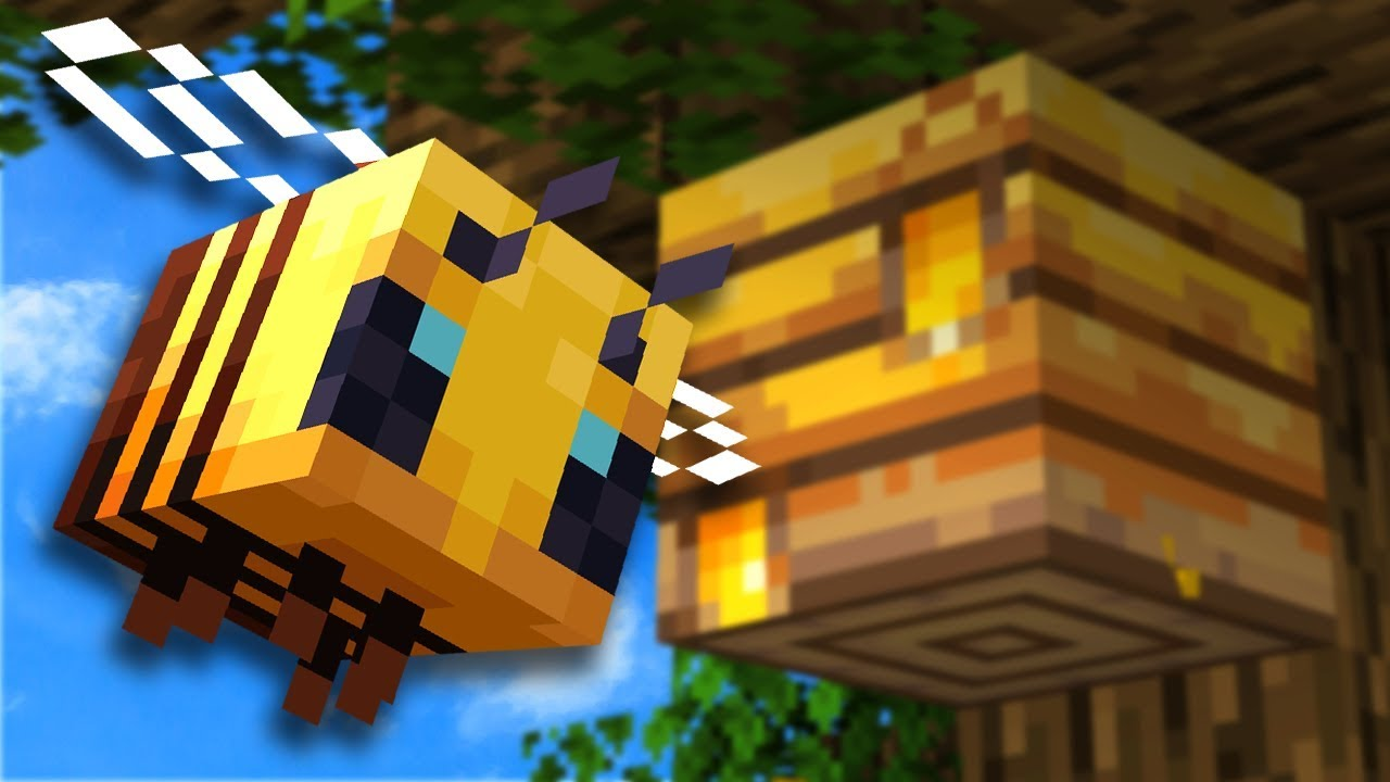 Everything You Need To Know About Bees In Minecraft 1 15 YouTube