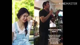 GARY VALENCIANO SINGS IN NADINE LUSTRE'S BROTHER'S WAKE!
