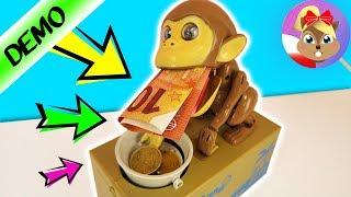 TA MAŁPA KRADNIE MOJĄ KASĘ! Monkey Money Bank po polsku - elektroniczna skarbonka na monety banknoty