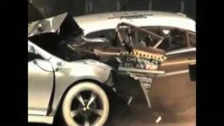 Crash test Chevrolet 1959 vs Chevrolet 2009