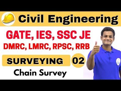 9:00 AM | Civil by Nikhil Sir | Day #02 | Surveying | Chain Surveying