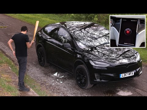 Testing Tesla SENTRY MODE Security System! – will it really work?