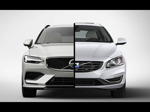 New 2019 Volvo V60 vs. Old 2018 Volvo V60 - YouTube