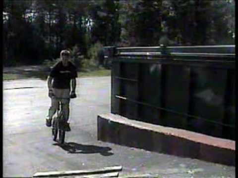 Matt Moderski - BMX Riding - 2001 - Salem New Hampshire