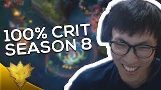 Doublelift - SEASON 8 100% CRIT XAYAH BUILD! - League of Legends Season 8 Funny Moments & Highlights