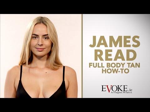 James Read Full Body Self-Tan How-To