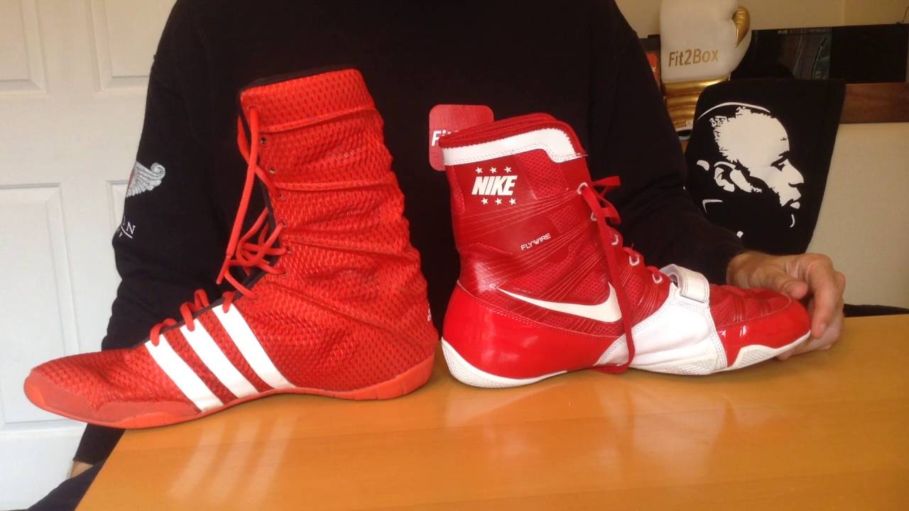 new styles f3d27 f9506 Adidas AdiPower vs Nike Hyper KO Head to Head Review