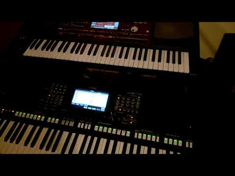 yamaha psr s775 vs korg pa700 rock styles youtube. Black Bedroom Furniture Sets. Home Design Ideas
