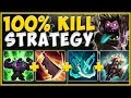 100% SOLO KILL ANY TOP LANER WITH THIS STRATEGY! MUNDO SEASON 9 TOP GAMEPLAY! - League of Legends