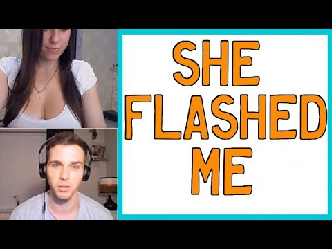Girls Flashing On Chatroulette