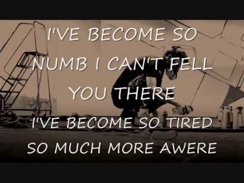 Linkin park- numb&testo