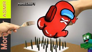 Monster school: POOR ZOMBIE LIFE #83 - Kluna tik eating Minecraft