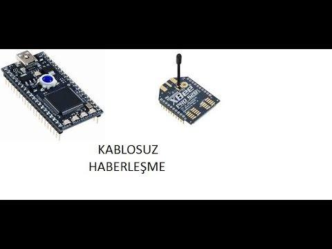 Xbee Pro modül kullanarak kablosuz haberleşme ile veri aktarımı