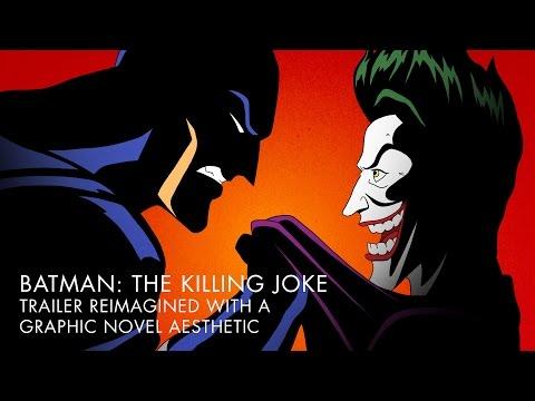 BATMAN: THE KILLING JOKE Trailer – Redrawn Graphic Novel Style