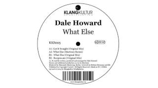Dale Howard - Get it Straight - KKS005