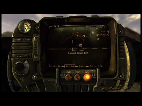Fallout: New Vegas advanced radioactive suit location