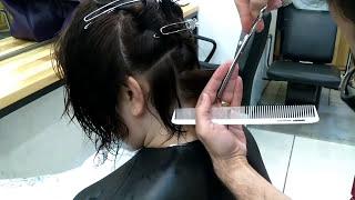 Bob Saç Kesimi Çalışması