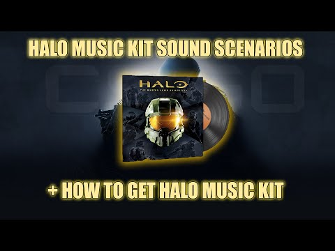 HOW TO GET HALO MUSIC KIT + ALL MUSIC CHANGES (TIMESTAMPS IN DESCRIPTION)
