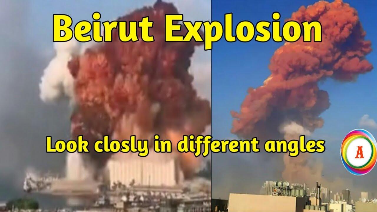 Mushroom shaped blast rips through Lebanese capital Beirut || Anupama Thoughts