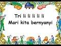 TRILILI TRALALA - (LIRIK) - Lagu Anak - Cipt. Pak Kasur - Musik Pompi S.