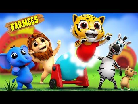 Eeny Meeny Miny Moe | Nursery Rhymes | Songs For Children | Kids Videos by Farmees S02E100