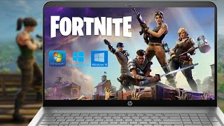 How to Download & Install Fortnite Game in Windows PC or Laptop 10, 8, 7, For Free