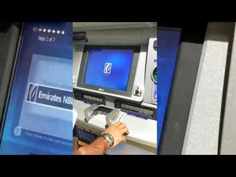 Dubai||How to do Emirates NBD cash  deposit