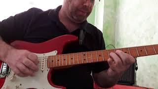 """Guitarra, Aula 3.a - """"Licks de Blues"""", em A7."""