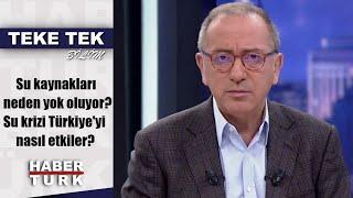 Teke Tek Bilim - 24 Kasım 2019 (Su kaynakları neden yok oluyor? Su krizi Türkiye'yi nasıl etkiler?)