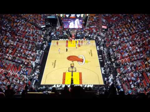 Miami Heat playing (viewed from the worst seats) at American Airlines Arena [PART 3]
