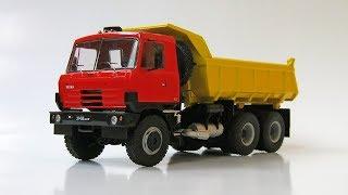 Зібрана модель - Самоскид TATRA 815 S1 (AVD Models)