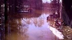 Muumilaakson tulvatilanne