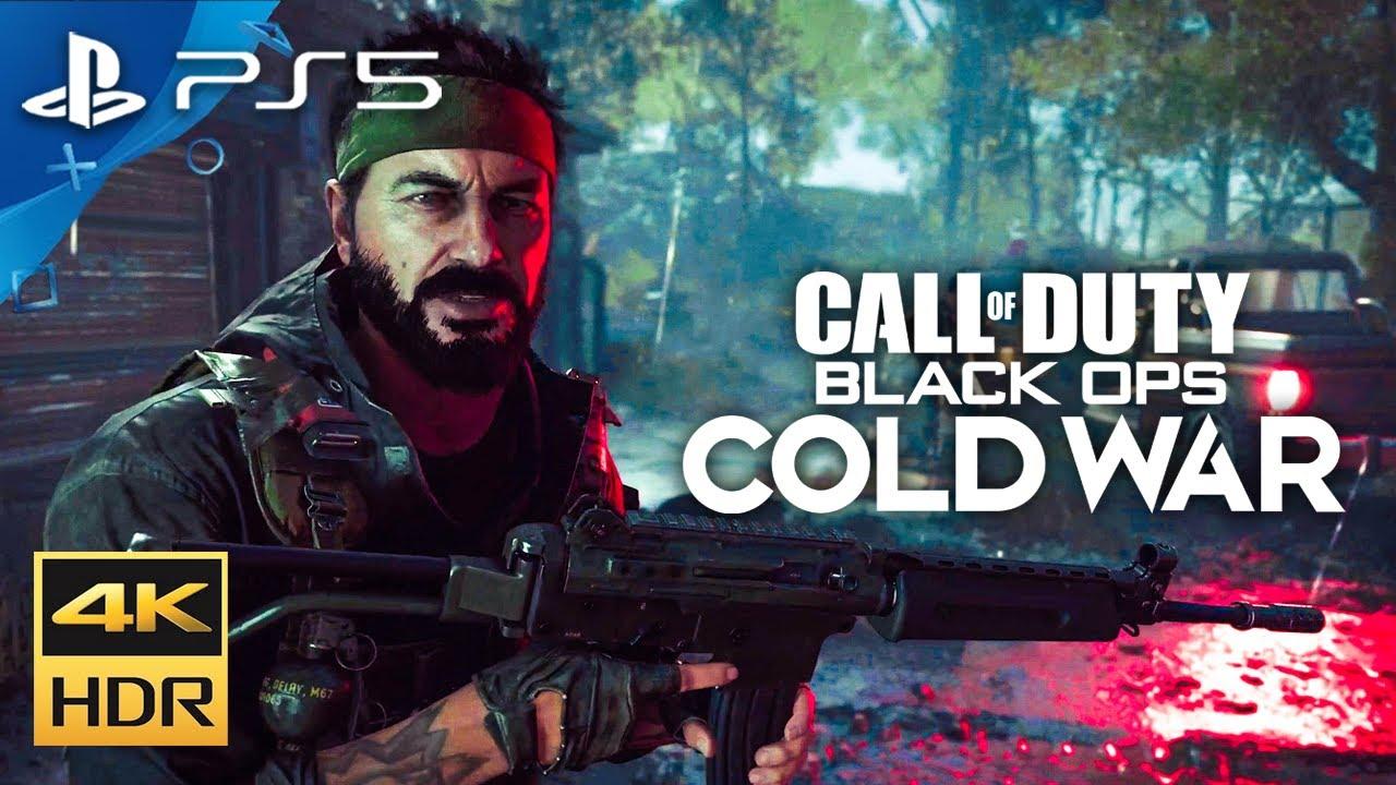 NEW BLACK OPS COLD WAR PS5 GAMEPLAY! (4K 60FPS)