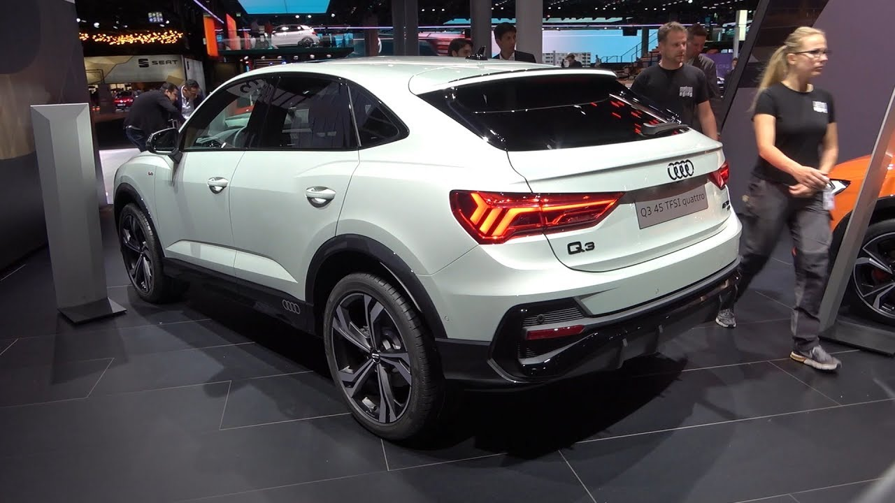 AUDI Q3 Sportback (2020) - first look & REVIEW (45 TFSI, S ...