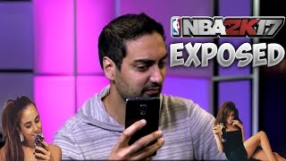 RONNIE 2K EXPOSED? RONNIE IS A SAVAGE + SNOOP DOG PLAYING 2K17 EARLY !