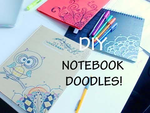 DIY Notebook Doodle Designs | Back to School BUDGET ART